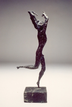 Man Running II. Cast bronze. H. 13 inches. No. 3 of edition of 3, two sold.