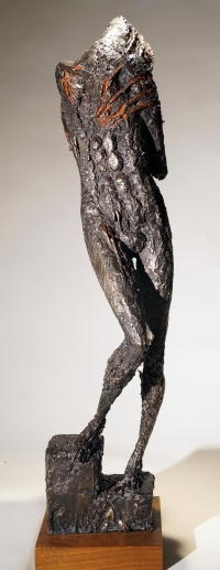Captive. Unique cast bronze. H. 29 inches.