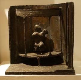 Mutile I. Unique cast bronze. H. 17 inches.