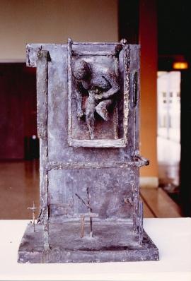 Mutile II. Unique cast bronze. H. 25 inches. Sold.