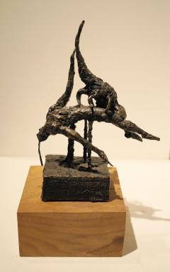 Parthenogenesis I. Unique cast bronze. H. 9 inches.