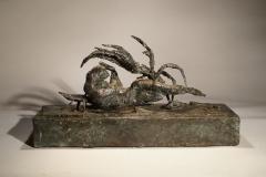 Parthenogenesis III.Unique cast bronze. L. 15 inches.